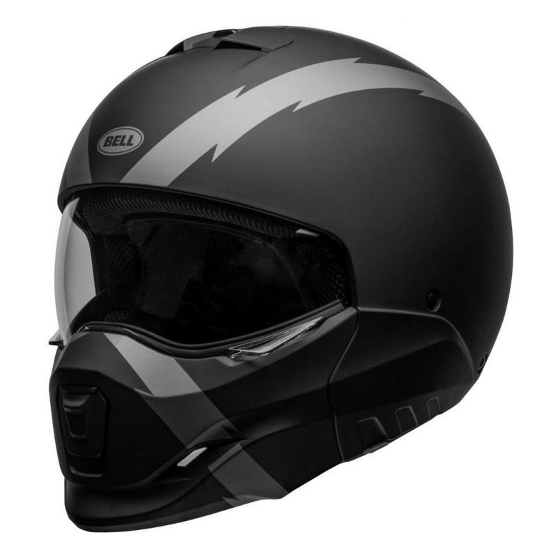 casque de moto transformable
